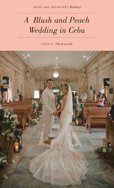Blush & Peach Cebu Beach Wedding | Photo: Ryan Ortega
