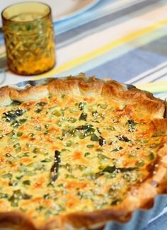 Senza Sale in Zucca: Torta di asparagi e cipollotti