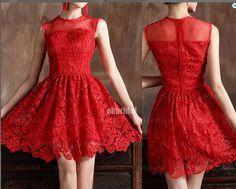 Dresses #Sexy Red Short Prom Dress Prom Dresses
