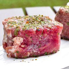 The Patio Daddy-O USDA Prime Filet Mignon Steak Box ~ Black Garlic and Truffle