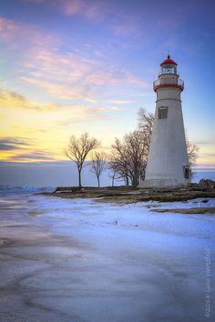 Marblehead Lighthouse 2, Lake Erie by Luke Hertzfeld
