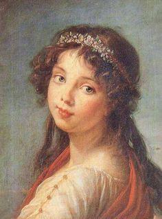daughterofchaos:  Louise Élisabeth Vigée Le Brun, Julie Le Brun, 1789