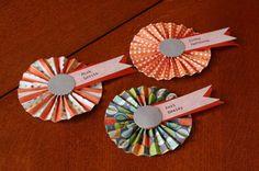 DIY Escort Card Magnets