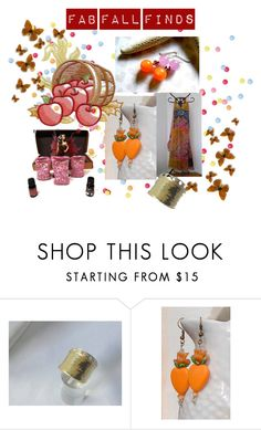 """""""Fab Fall Finds"""" by artbymarionette ❤ liked on Polyvore featuring Hostess, handmade, EtsySpecialT, crazy4etsy and SpecialTweek"""