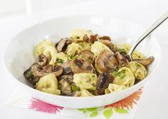 Tortellini prosciutto met champignons -  Recept » Colruyt Culinair