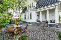 "(1) FINN – FALKUM - Praktfull og majestetisk ""Falkumvilla"" med svært god og… Villa, Real Estate, Patio, Outdoor Decor, House, Home Decor, Decoration Home, Home, Room Decor"
