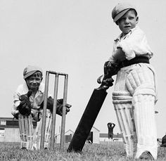 Cricket in Hitler's Germany.