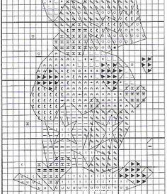 Marcapaginas en punto de cruz ~ Mimundomanual