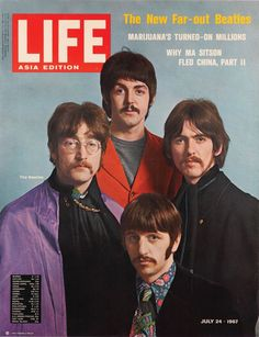 Life Magazine, Asia Edition // The New Far-Out Beatles [July 24, 1967]