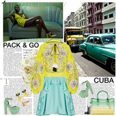 How To Wear Pack & Go Cuba! Outfit Idea 2017 - Fashion Trends Ready To Wear For Plus Size, Curvy Women Over 20, 30, 40, 50