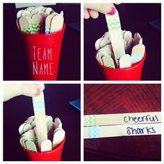 Super cute ways to pick team names. No more arguing and wasting time to pick a team name for a group