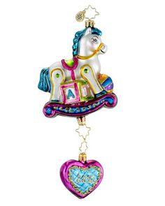 Image detail for -Christopher Radko Christopher Radko Rock a Bye Baby 2012 Ornament