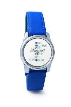 Women Wrist Watch India | BROTHER Abbreviation Typography Wrist Watch Online India