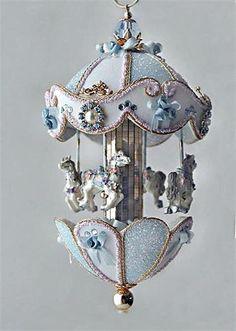Carousel-  egg art