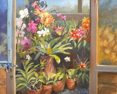 Orchid House by Diane Mannion
