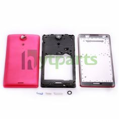 OEM Full set housing replacement for Sony Ericsson Xperia TX LT29 LT29i This set consists of 3 parts