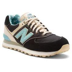 Mens New Balance Shoes ML574 Black Tan by ailearrobinsony