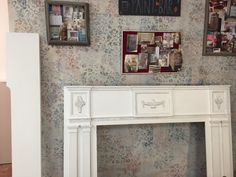 Before & After: Antique Mantle Before & After: Antique Mantle with Chalk Paint? decorative paint and waxes- Silk and Sage Design Studio, Austin