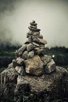 Pile of Stones, Sendai, Japan by Christian Lindberg, via Flickr