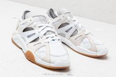 adidas Dimension Lo Footwear White/ Chalk White/ Grey Two at a great price 128 € buy at Footshop White Chalk, Dress With Sneakers, Adidas, Samba, Men's Shoes, Streetwear, Footwear, Grey, Stuff To Buy
