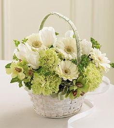 Fresh Picked™ Flower Girl Basket