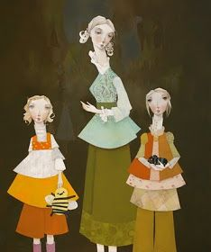 Melissa Peck here and here The more I paint the less words I seem to have. As long as I can remember I have thought of myself as an a. Illustration Story, Illustrations, Mother Art, American Artists, Art Pictures, Paper Dolls, Online Art, Aurora Sleeping Beauty, Character Design