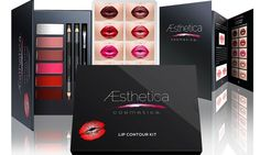 Aesthetica Cosmetics Lip Contour Kit $24.99(58% off) Exp:Jan/2/2016