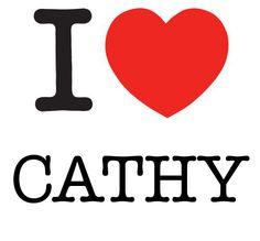 I Heart Cathy #love #heart
