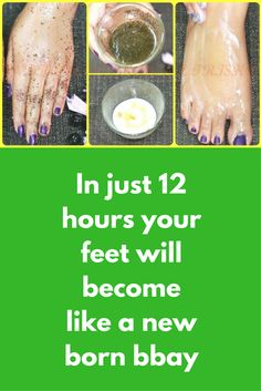 In just 12 hours your feet will become like a new born bbay Step 1 – Scrubbing In a clean bowl take 3-4 tsp sugar Add 3 tsp olive oil Add green tea powder from 2 tea bags Add 2 tsp lemon juice Mix it well and your scrub is ready Exfoliate your feet with this for 2-3 minutes Wash your hands with luke warm water Step 2 …