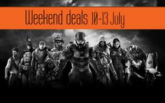 The best weekend game offers 10-13 July
