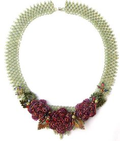 Rachel's roses necklace by Cielo Design, via Flickr