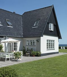 Modern Country Style: Summer Home Tour In Demark Click through for details.