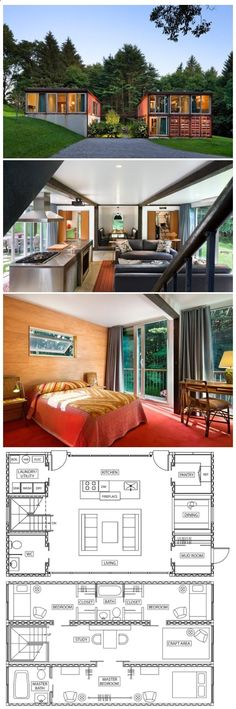 Container House - Container House - Old Lady House - Who Else Wants Simple Step-By-Step Plans To Design And Build A Container Home From Scratch? #FavoriteContainerHomes