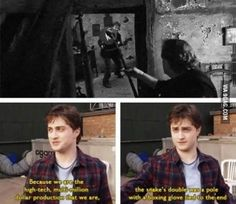 Behind the scenes of Harry Potter