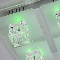 RGB Outdoor Decken Lampe Garten Haus Park Leuchte Dimmer Farbwechsel im Set inklusive 14 Watt LED Leuchtmittel