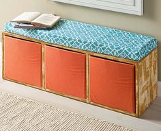 General Crafts - Cubby Shelf Unit Bench
