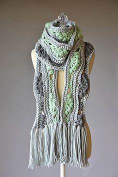 Ravelry: Ambrosia Scarf pattern by Universal Yarn... Free pattern!