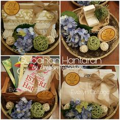 Traditional Gift Trays by Everlyn Cottage