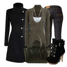# F/W STREET FASHION COMPLETE OUTFIT
