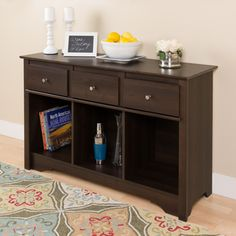 Shop for Ellsworth Espresso Console. Get free shipping at Overstock.com - Your…