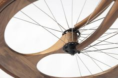 A Stunning Handmade Bike Built Out Of Wood | Co.Design | business + design