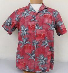 RJC Mens Tapa Wood Creation Hawaiian Shirt