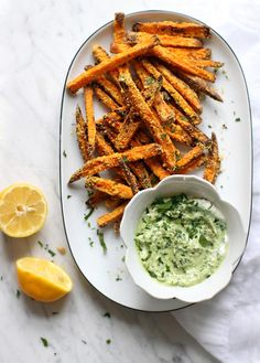 crispy cornmeal sweet potato fries! yum!