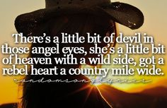 Country Music Lyric Quotes | ... follow posts tagged country lyrics on tumblr country music lyrics on