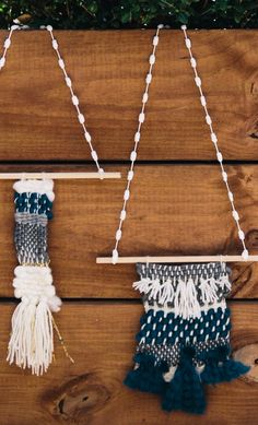 DIY Woven Wall Hanging | Find the DIY instructions at Joann.com