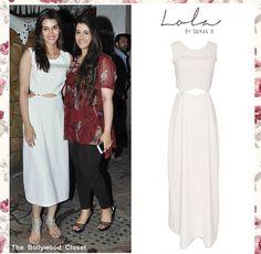 Lola by Suman b# Bollywood closet # Kirti sanon # brunch look # white beauty # Indian fashion