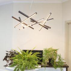 Chandeliers – Loft ceiling chandelier - unique LED- Simplicity – a unique product by Artem-Kolyuka on DaWanda