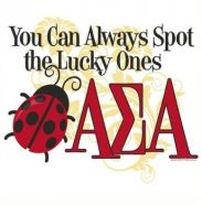 Alpha Sigma Alpha ~ You can always spot the lucky ones
