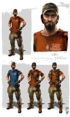 DEAD ISLAND RIPTIDE CONCEPT ARTS on Behance