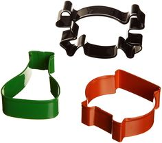 WILTON Mad Scientist Halloween Cookie Cutter Set -- Discover this special deal, click the image : Baking Accessories